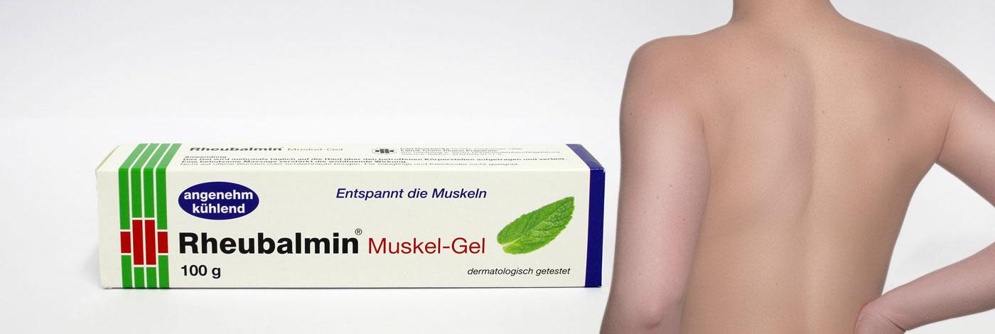 Rheubalmin Muskel Gel